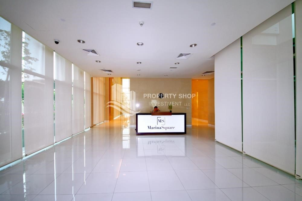 Reception - 2 Bedroom Apartment in Burooj View, Marina Square FOR RENT!