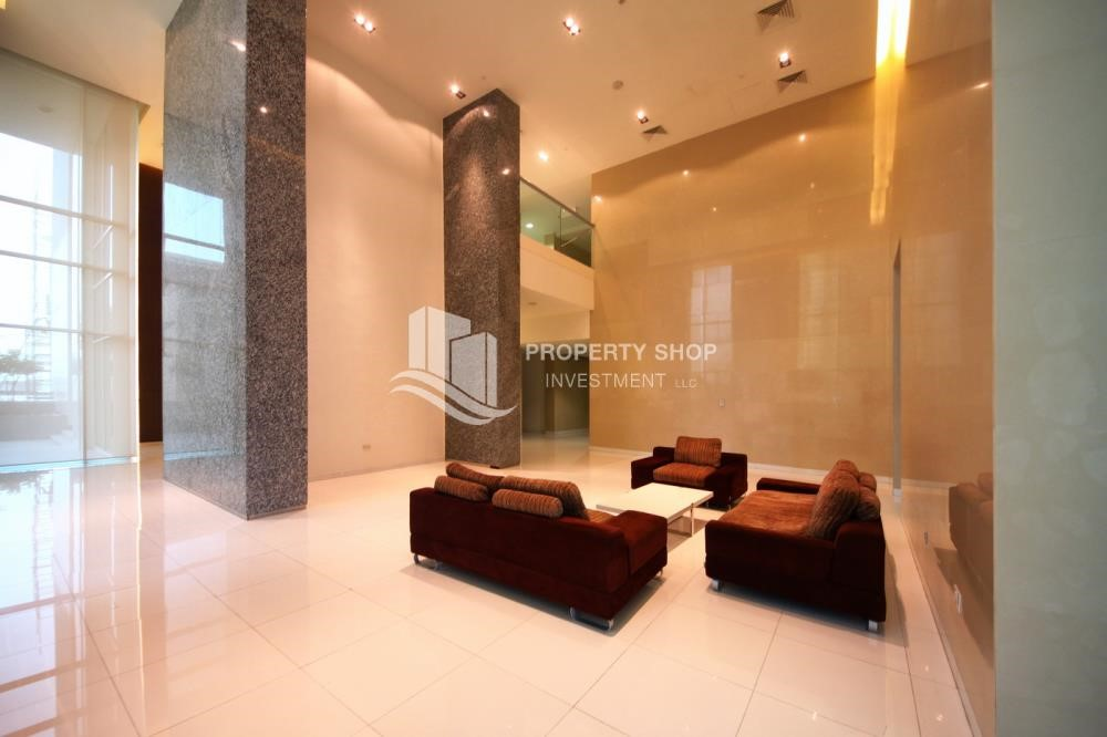 Sitting Area - 2 Bedroom Apartment in Burooj View, Marina Square FOR RENT!