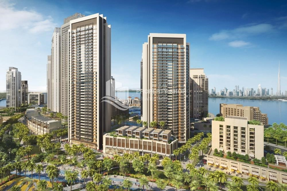 Property - 3BR apartment plus maid's room available in Creek Horizon, Dubai.