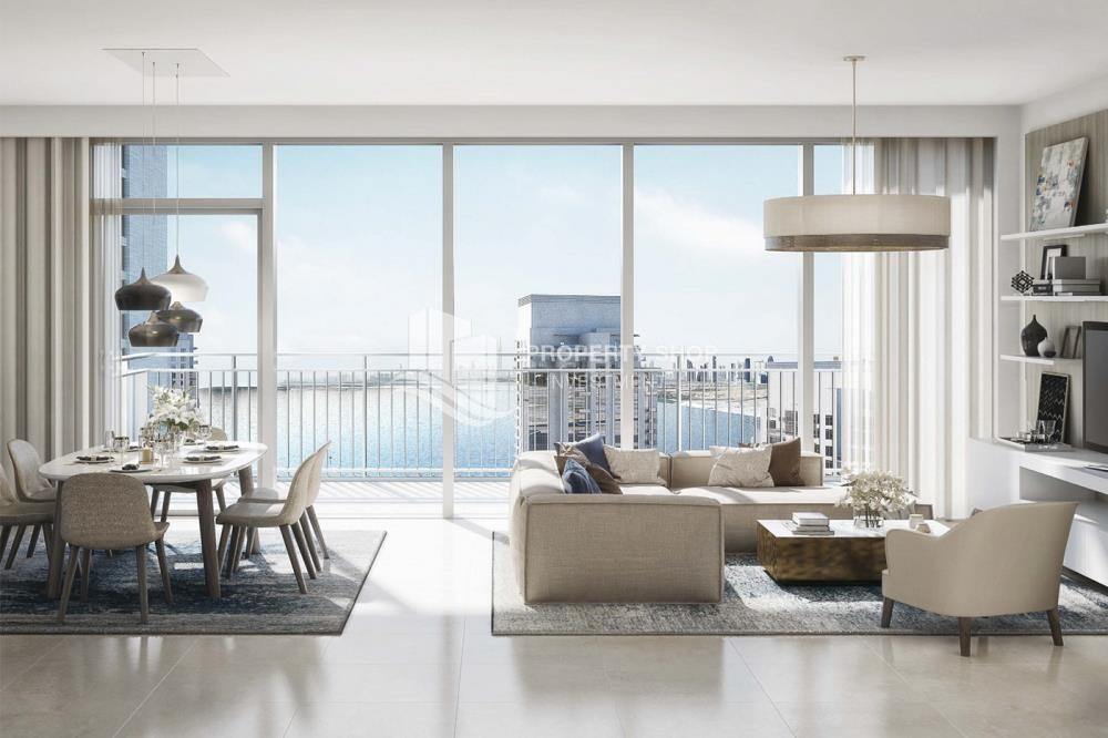 Living Room - Brand new apartment located in the heart of Dubai. Contact PSI for details.