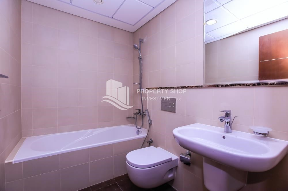 Bathroom - Affordable, 3BR Apartment + Maid, Laundry Room in Wave Tower