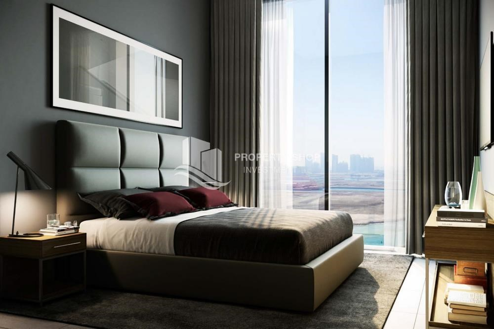 Bedroom - Brand new 3BR apartments in Al Reem Island available for sale.