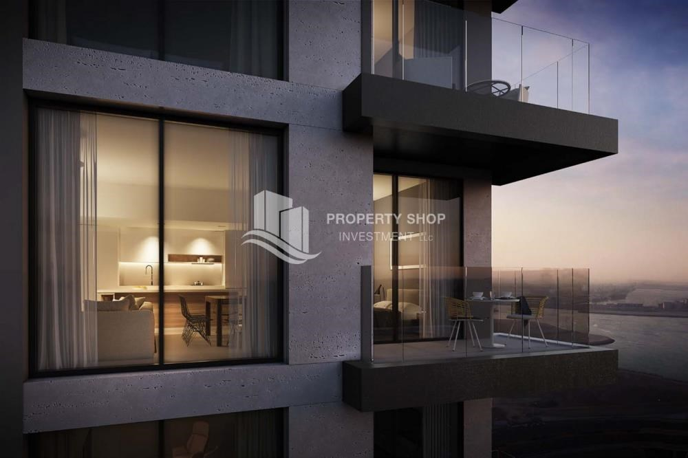 Balcony - Brand new 3BR apartments in Al Reem Island available for sale.