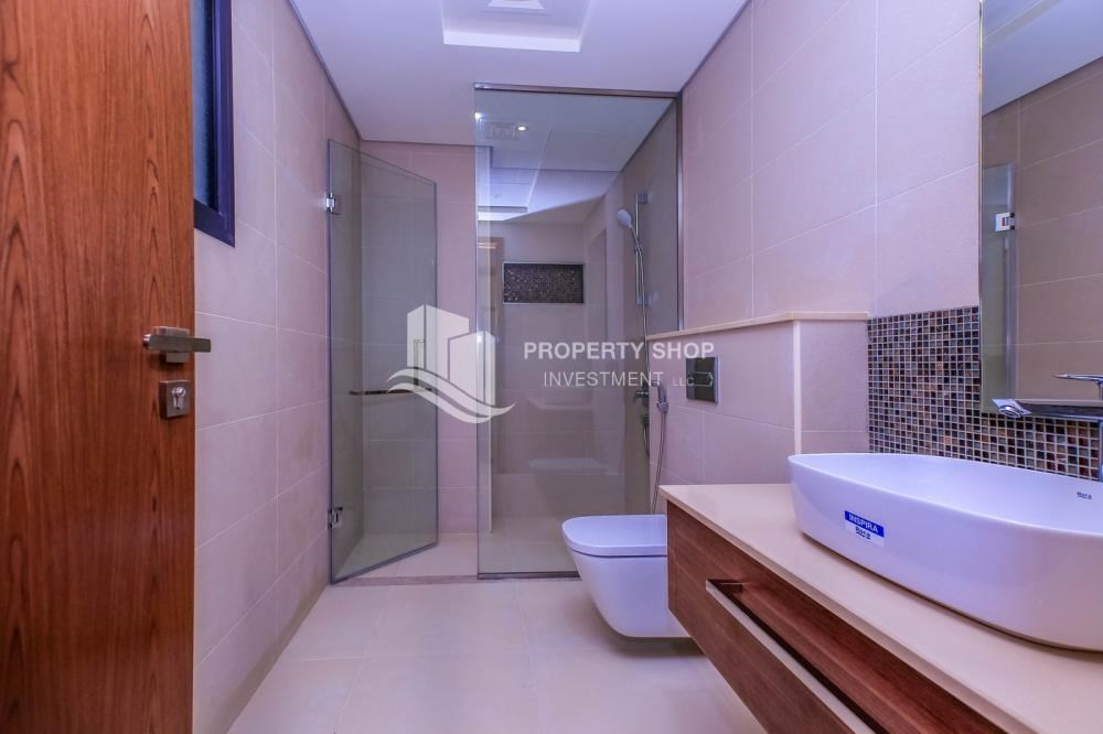 Bathroom - Get a chance to own a property in an exquisite community in West Yas.
