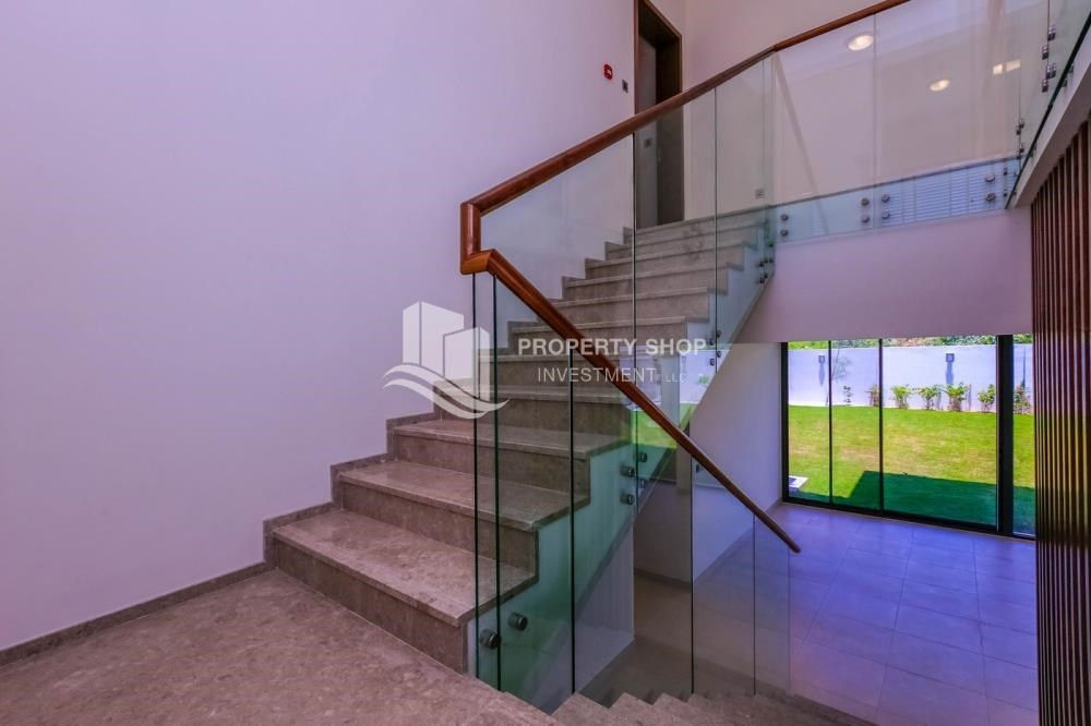 Stairs - Get a chance to own a property in an exquisite community in West Yas.