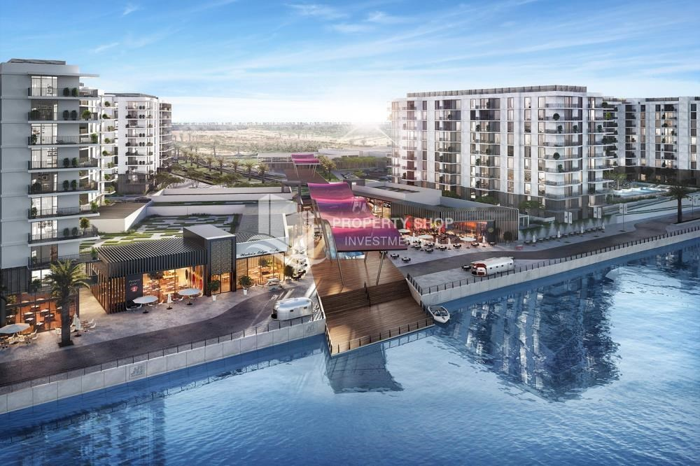 Community - Elegantly designed 1BR Apt in prime location in Yas Island.