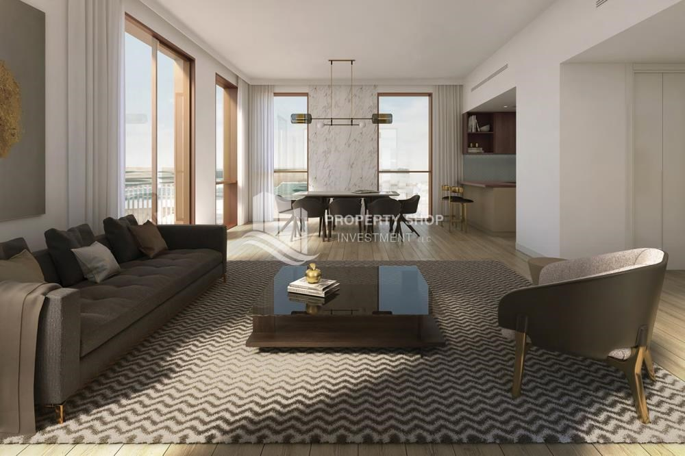 Living Room - Direct from ALDAR! Own an excellent apartment with world-class amenities