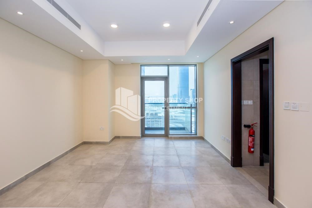 Living Room - Studio apartment available to rent in Al Noor Tower