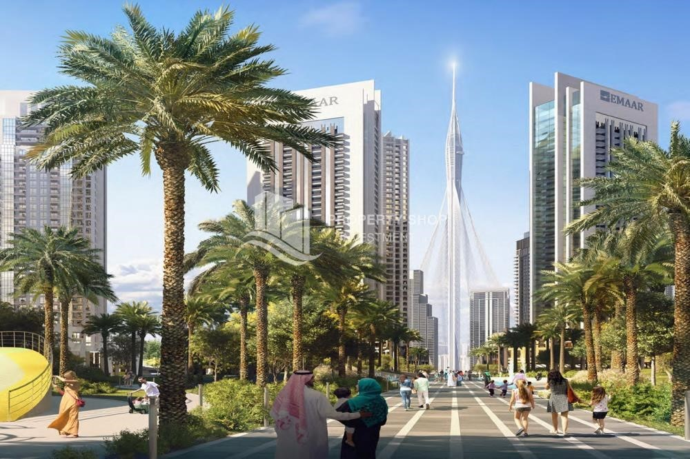Community - 3BR Apt overlooking the beautiful Dubai landscape