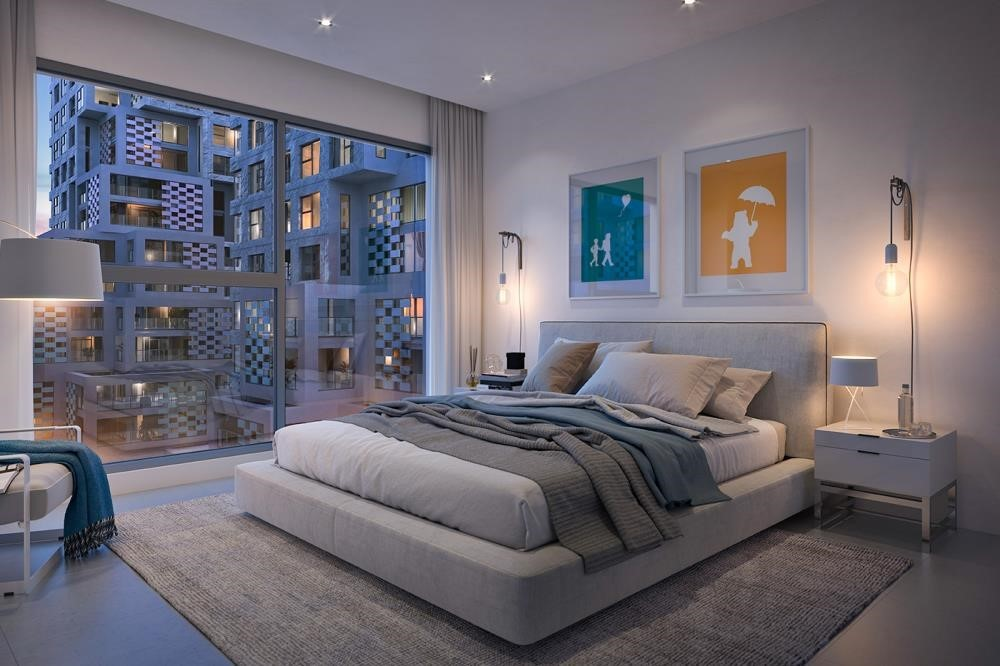 Master Bedroom - Contemporary layouts with bright spaces. 5% down payment & 3 years post-handover.