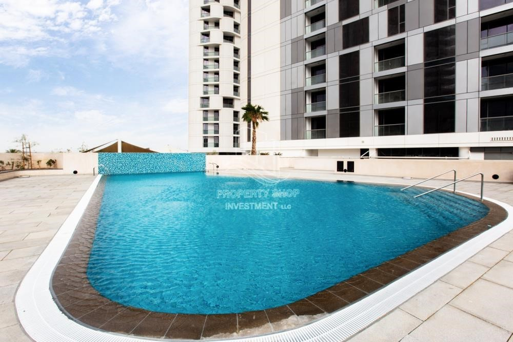 Facilities - New 3BR apartment in Shams Meera.