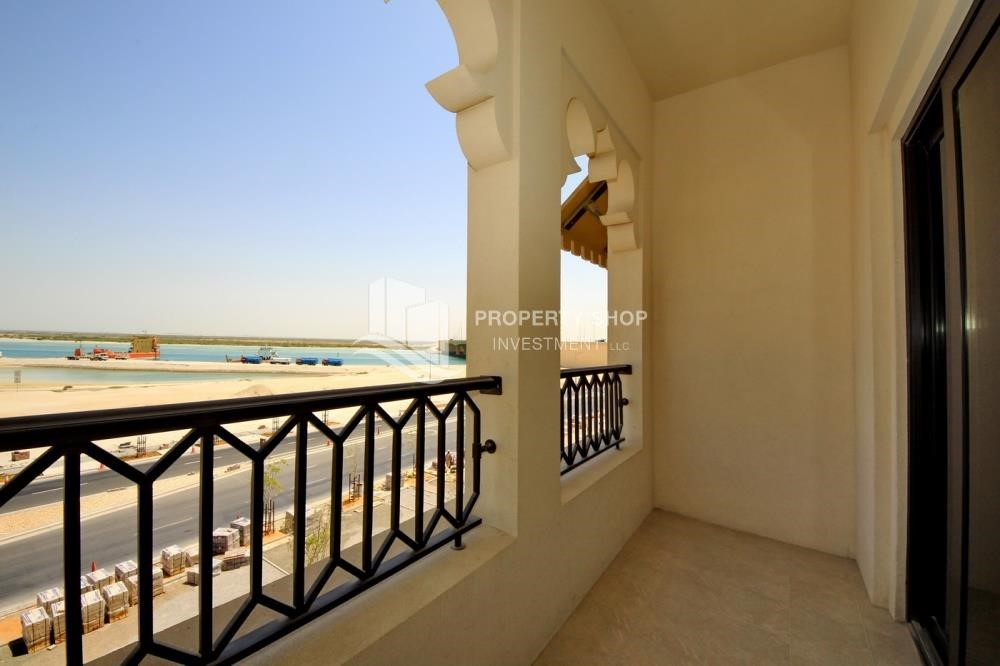 Balcony - 1br Apartment in Saadiyat Island Ready to Move in Now!