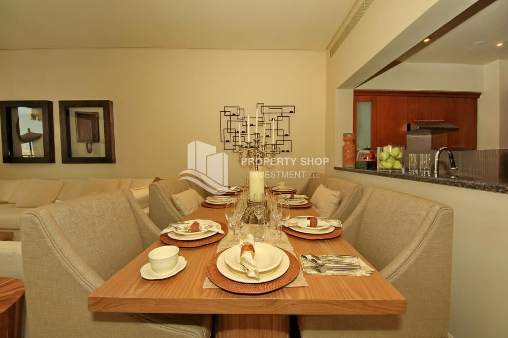 Dining Room - 1br Apartment in Saadiyat Island Ready to Move in Now!