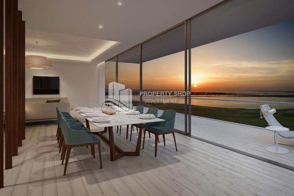 Dining Room - Available for All nationalities, sophisticated beach house with High-end facilities