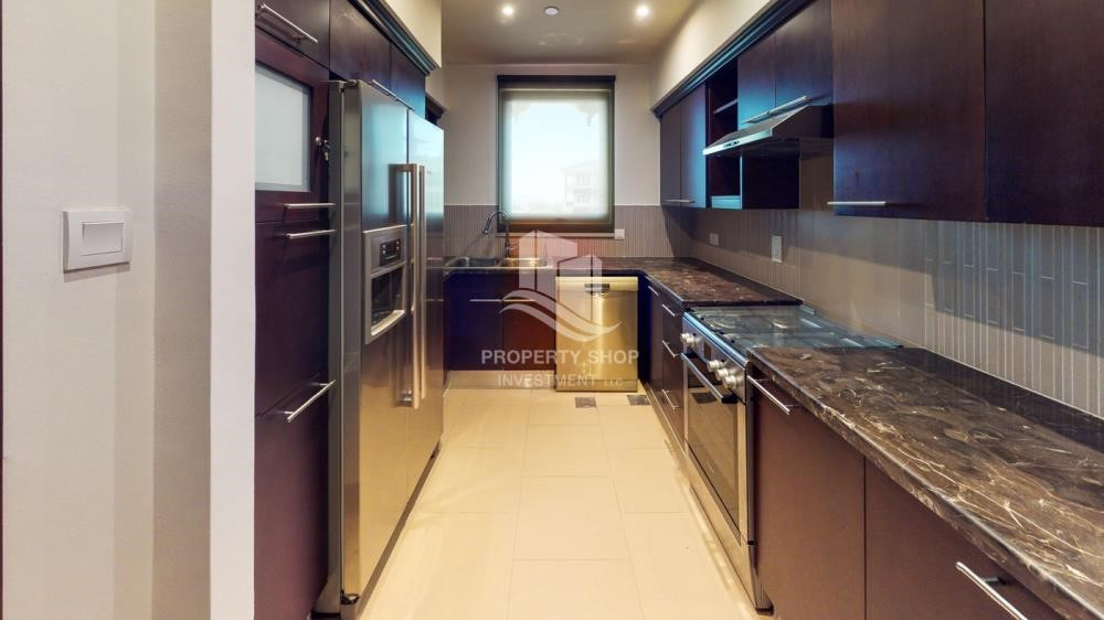 Kitchen - Call Now To Check 3Br With Zero Commission - 4 Cheuqes