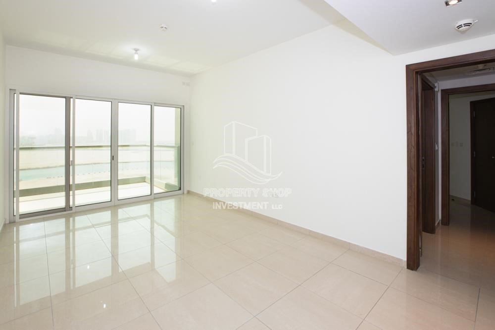 Living Room - 0% No Commission fees! 3BR Apt with Stunning Sea View!