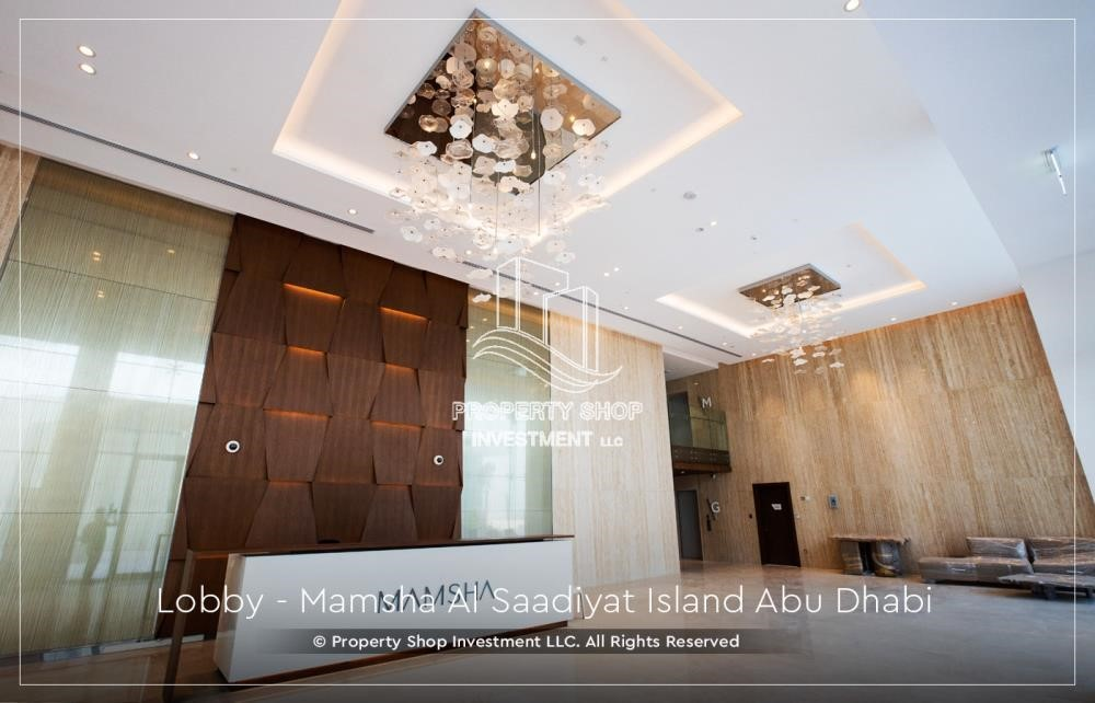 Lobby - Stunning 3BR apartment for sale.