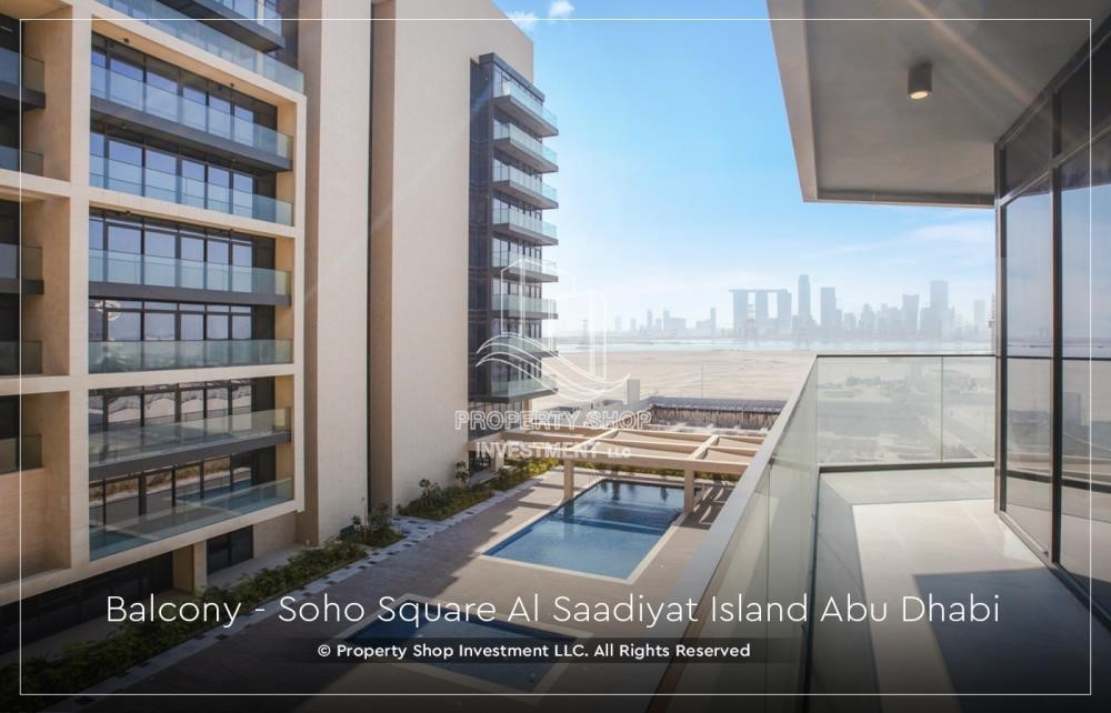 Balcony - Apt with 10% BD + Monthly payment plan