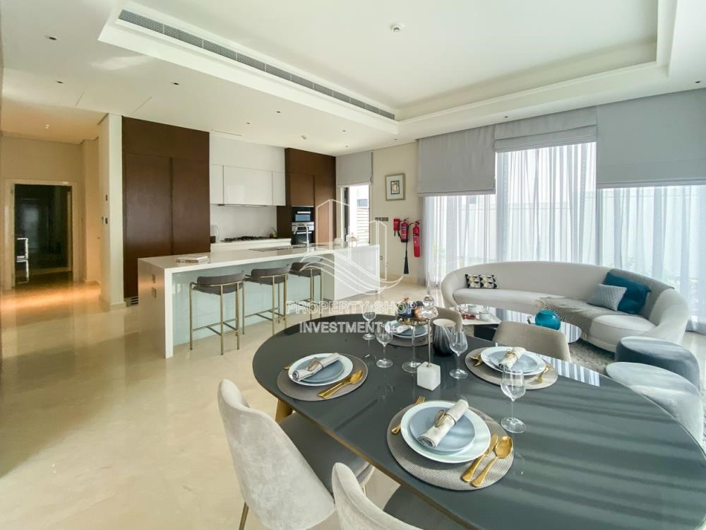 Dining Room - Double Row Middle villa with Premium design and modern features.