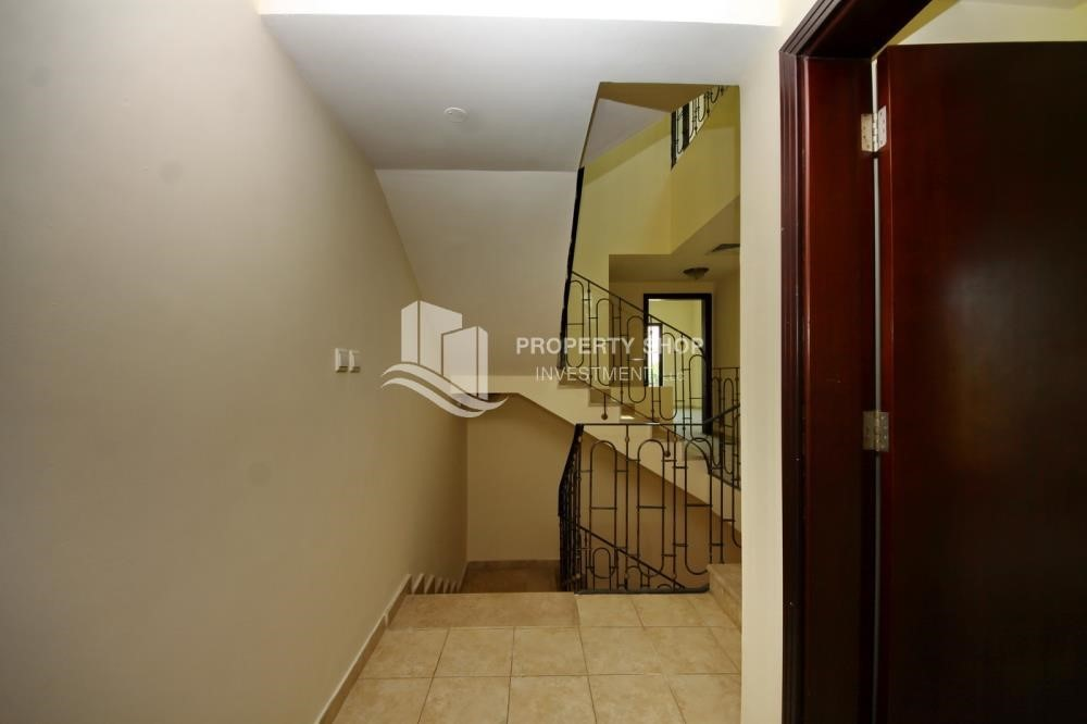 Stairs - Creative interior design, 5BR+M Villa with Balcony, Terrace, 12 Payments