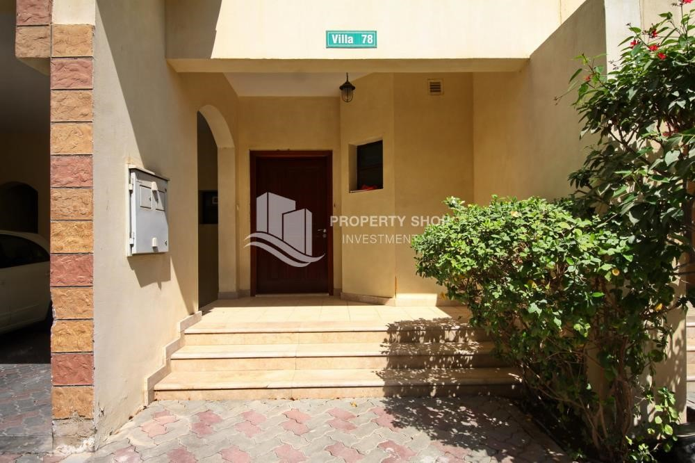 External Entrance - Creative interior design, 5BR+M Villa with Balcony, Terrace, 12 Payments