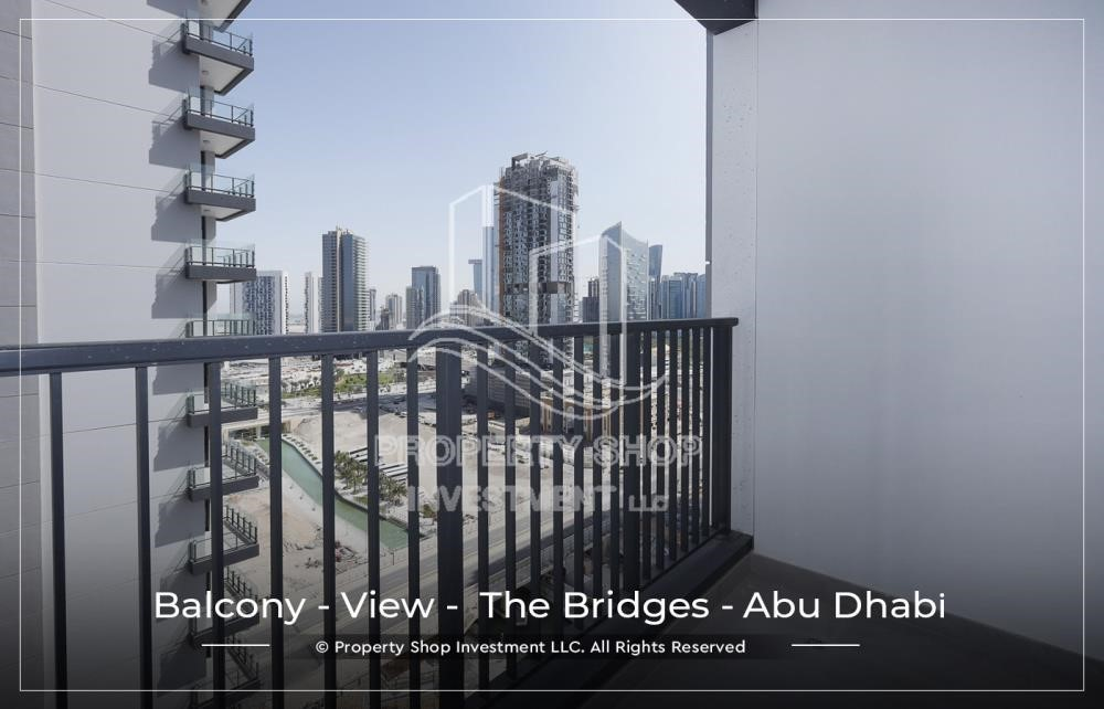 Balcony - 1 BR available for Leasing from June in Brand New Tower!
