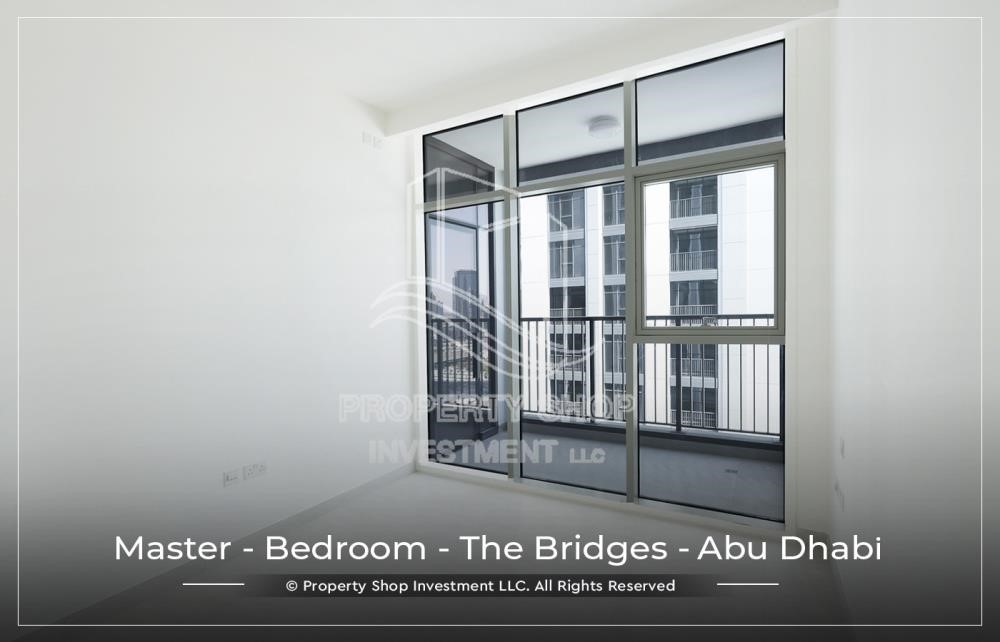 Master Bedroom - 1 BR available for Leasing from June in Brand New Tower!