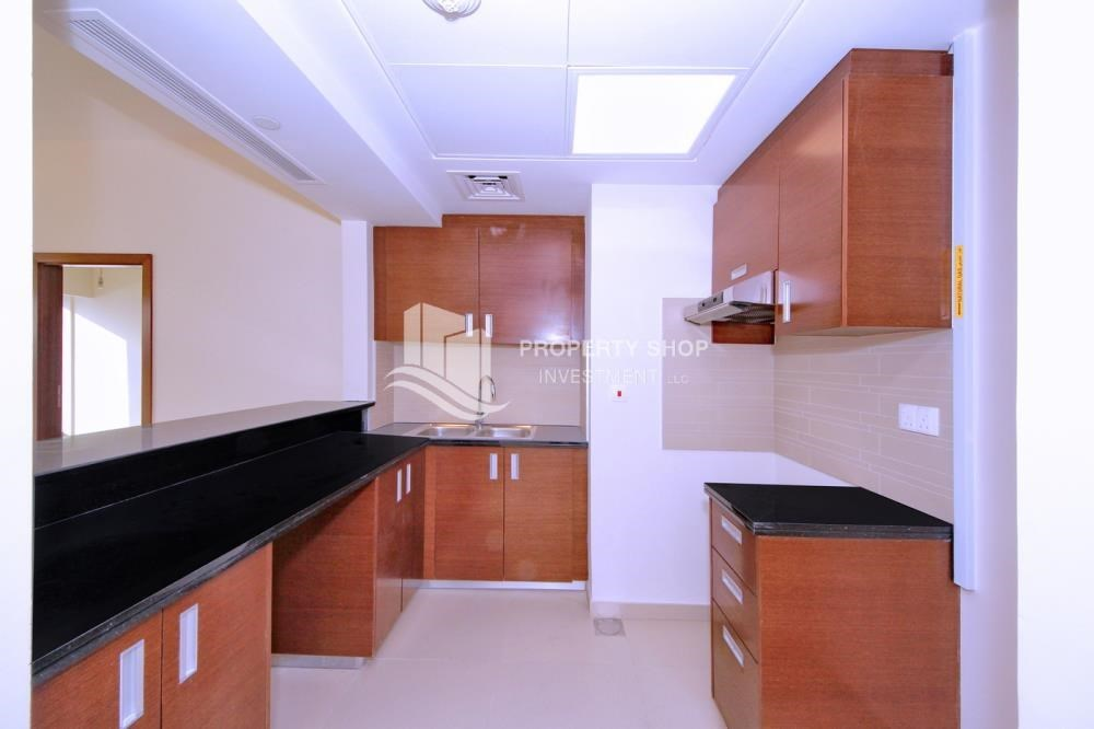 Kitchen - 1 bedroom apartment for rent in Gate Tower