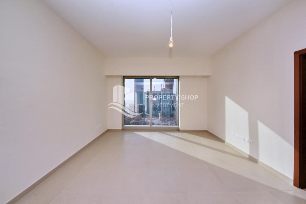 Living Room - 1 bedroom apartment for rent in Gate Tower