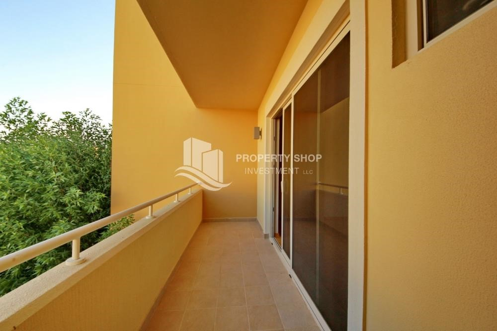 Balcony - Type A 4BR+M townhouse with large lawn area.