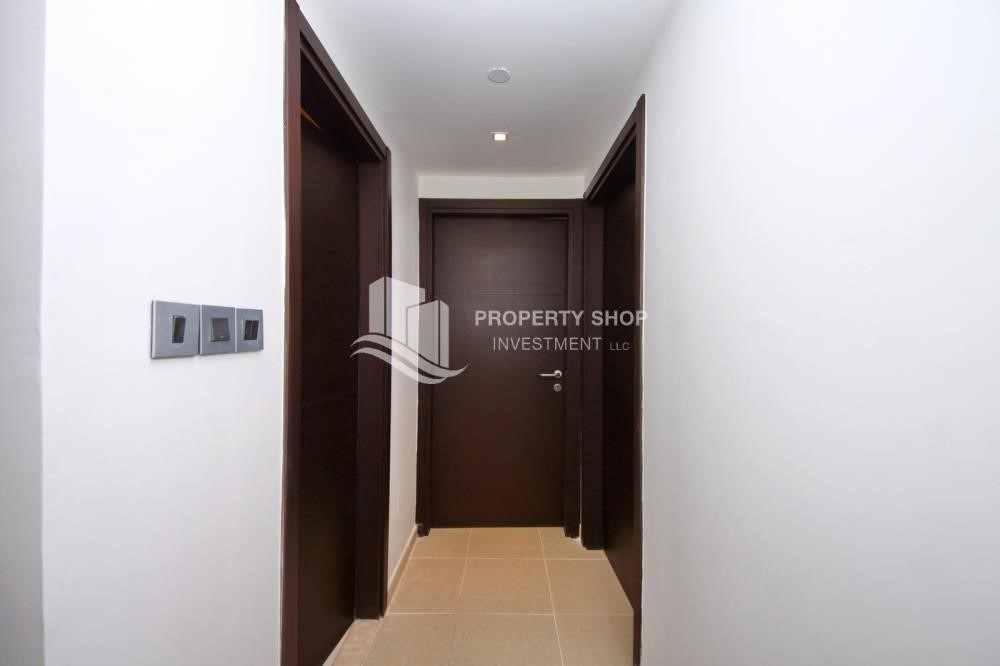 Corridor - 2BR with built in cabinet & balcony for rent in Mangrove Place.