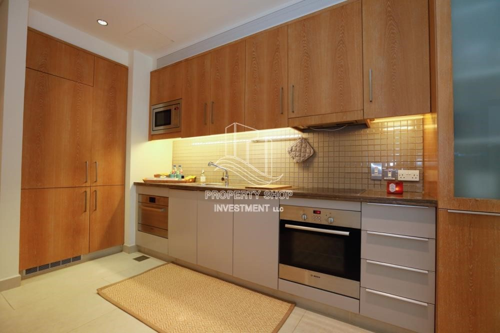 Kitchen - Luxurious Furnished Studio with Parking in St. Regis.