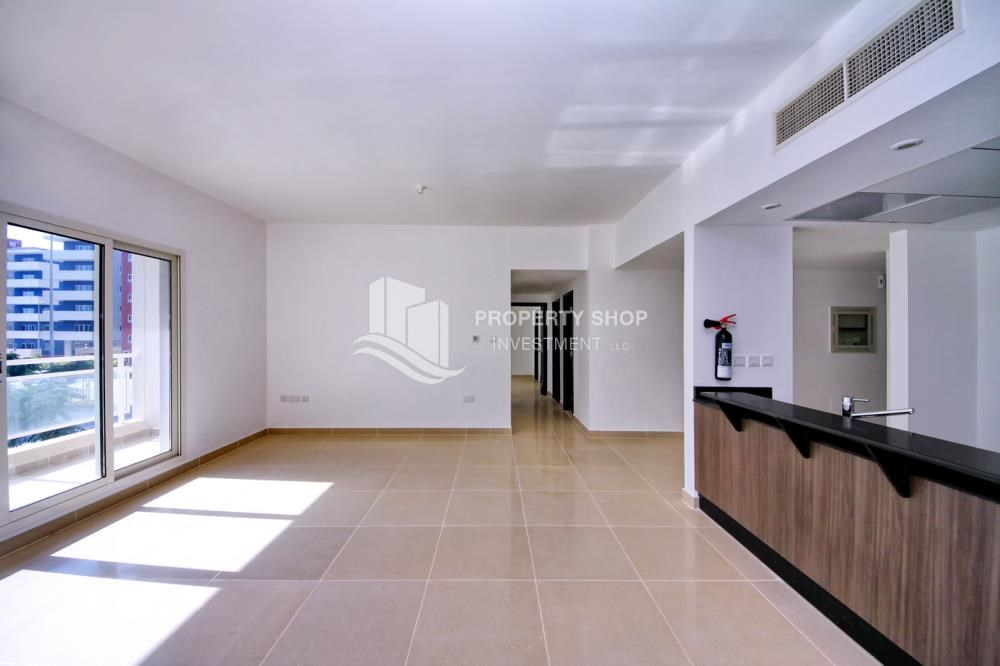 Living Room - 2 Bedroom Apartment in Al Reef Downtown FOR RENT by first week of July!