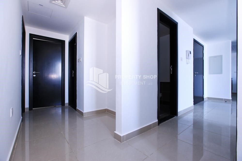 Corridor - 3BR Apt with Maid's room.