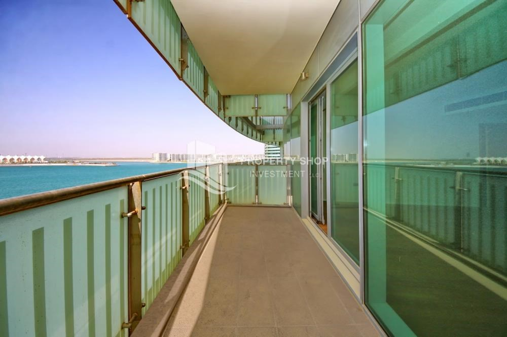 Balcony - Spacious 3+M BR Apt with Partial Sea View