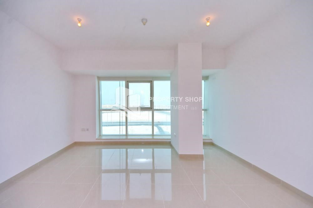 Living Room - Offering High Standard, 2 BR apt w/ Sea View.