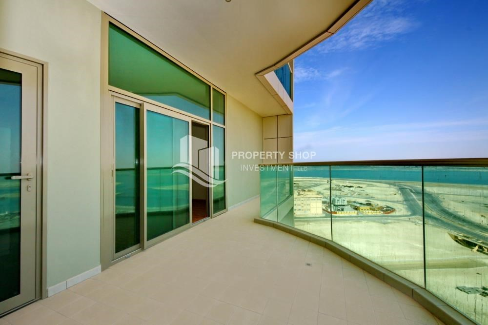 Balcony - Spacious Sea View 1+M BR with balcony.