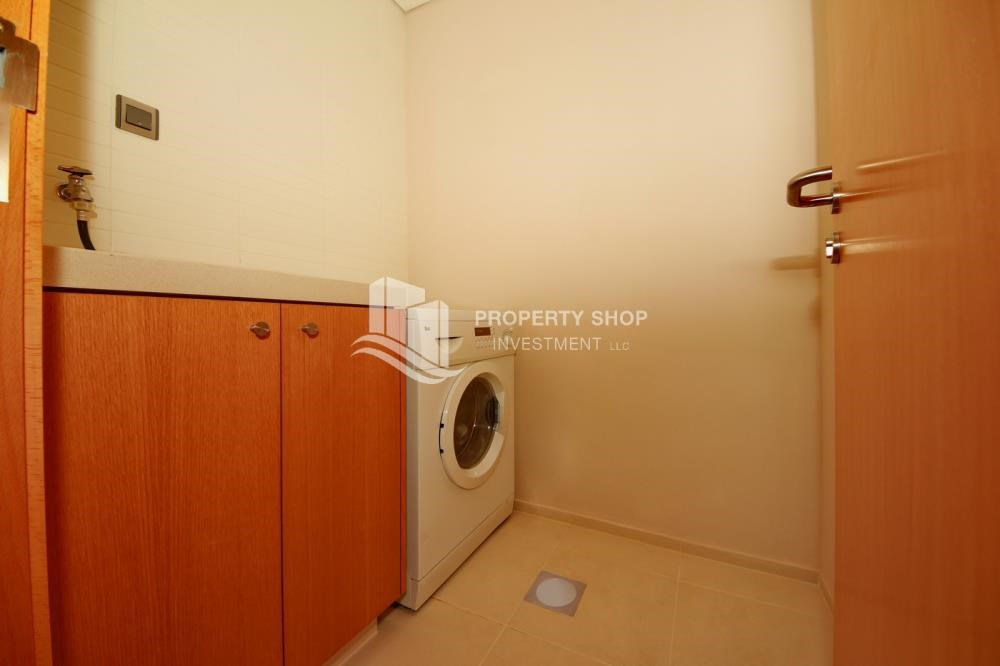 Laundry Room - 4+M BR Apt on High Floor plus 2% Rent Free + 1 Month Rent Free in Al Raha Beach!