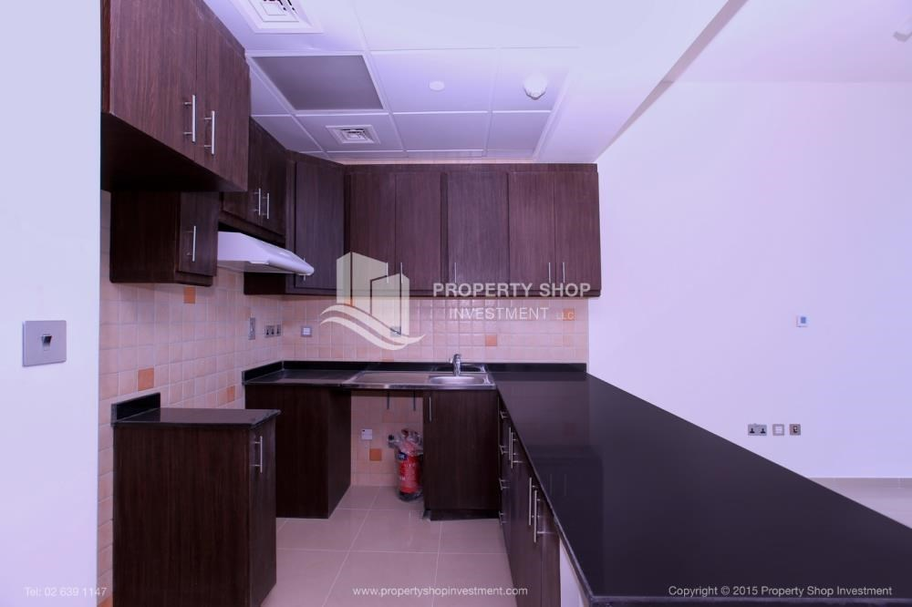 Kitchen - Studio Apt with Sea View for rent, Monthly Payments!