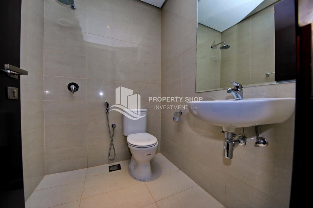 Bathroom - Brand new tower in Al Reem Island ready to move in! Spacious bedrooms!