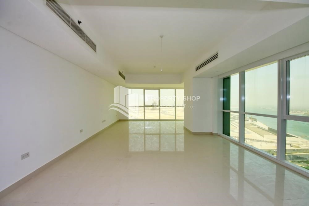 Living Room - Brand new tower in Al Reem Island ready to move in! Spacious bedrooms!