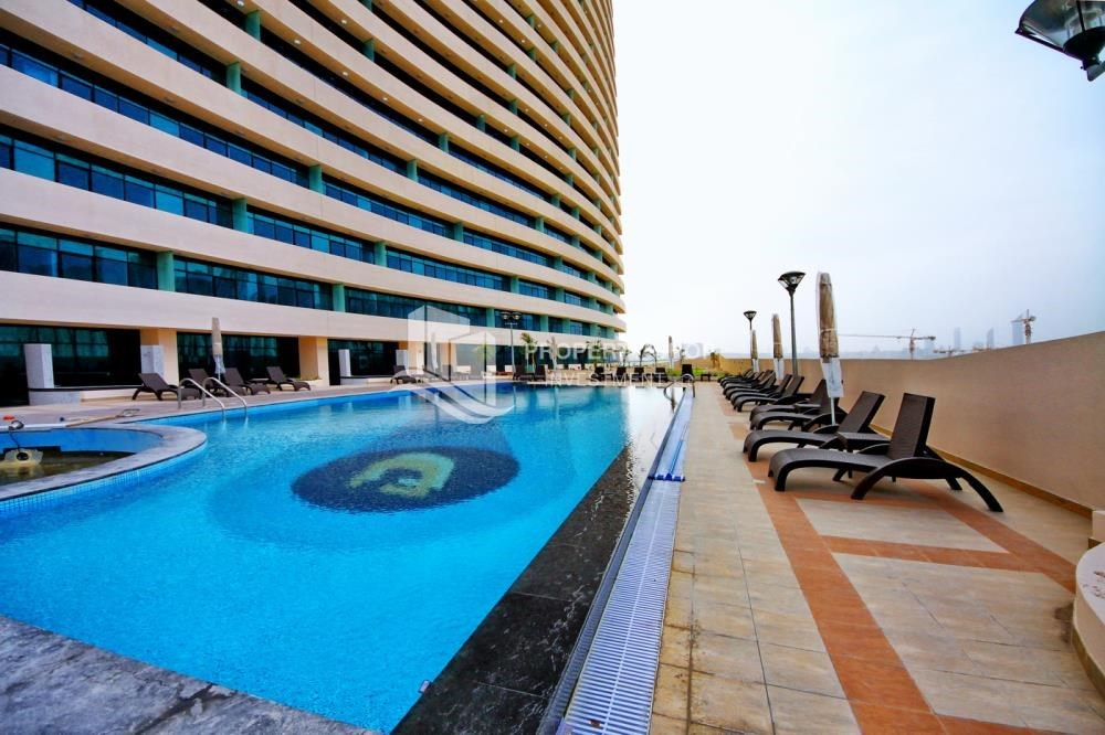 Facilities - Spacious 1BR with balcony and sea view.