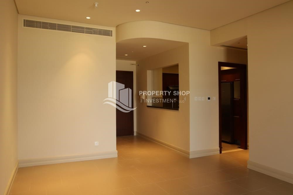 Hall - Beautiful and unique living spaces in Saadiyat Beach Residences, 1BR Apt Available for rent! Zero Commission!