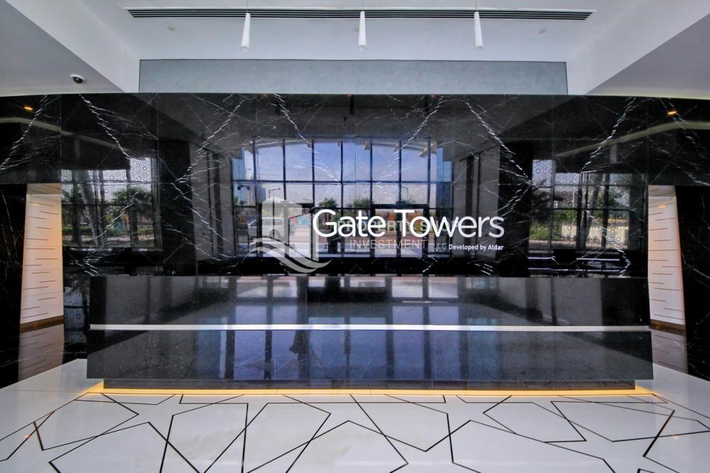 Reception - Luxurious 4br plus maids room penthouse in Gate Tower 2. for sale