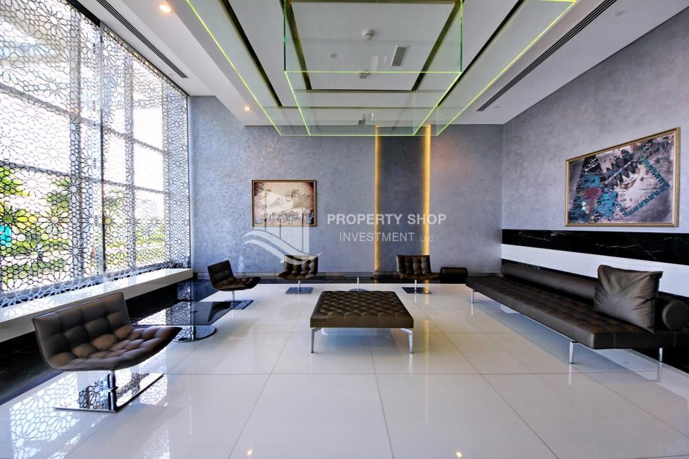 Sitting Area - Luxurious 4br plus maids room penthouse in Gate Tower 2. for sale
