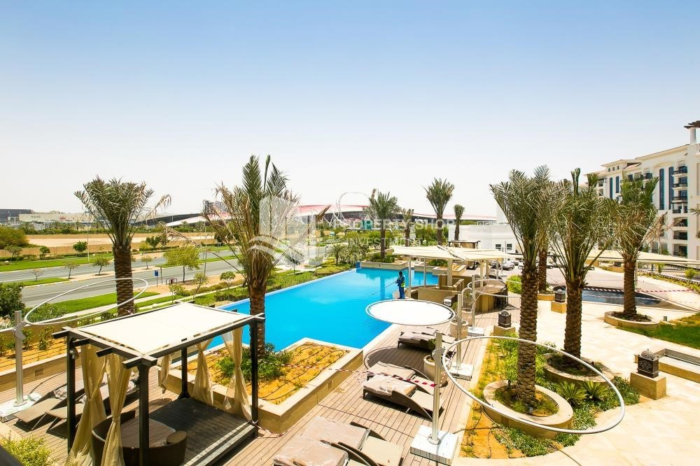 Community - 1BR with balcony in Yas Island.