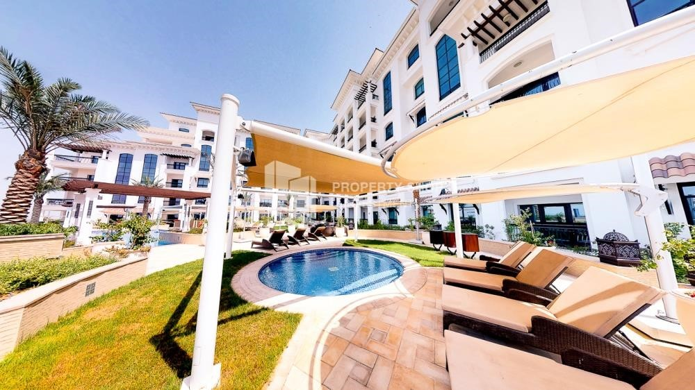 Facilities - Spacious 2 bedroom + maids with full golf and sea view