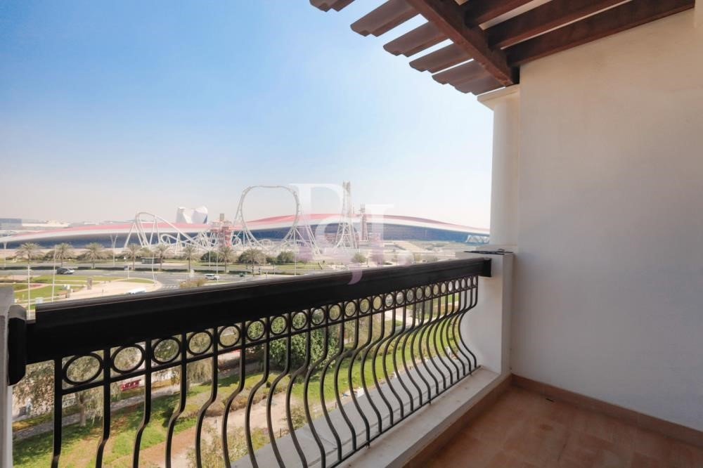 Balcony - Stunning 3+Maid with Partial Golf Course & Ferrari World View