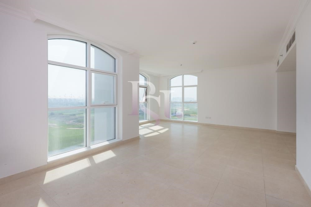 Living Room - Stunning 3+Maid with Partial Golf Course & Ferrari World View