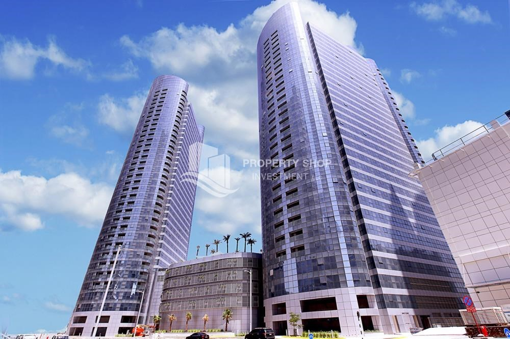 Property - High Floor 2 BR Apt with Balcony in Brand New Tower.